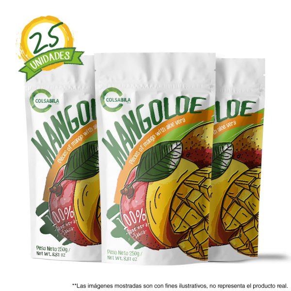 Aloe Pulpas Mango X25 Unidades
