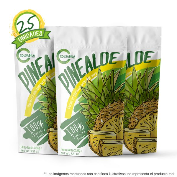 Aloe Pulpas Piña X25 Unidades